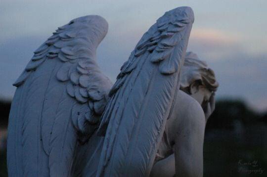 Statue af engel