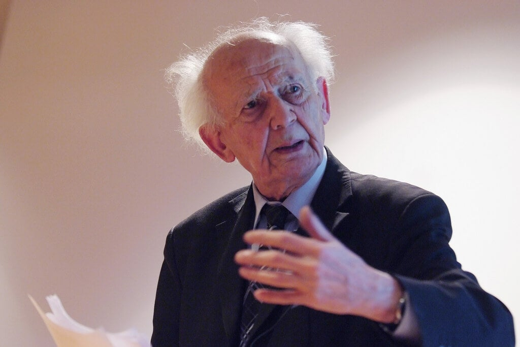 Zygmunt Bauman taler om flydende kærlighed