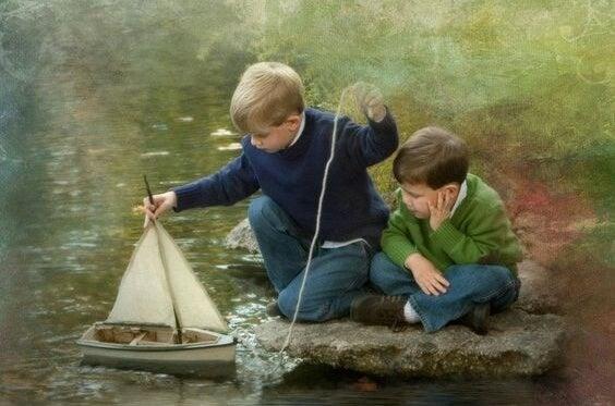Fundamentet for selvsikkerhed starter i barndommen
