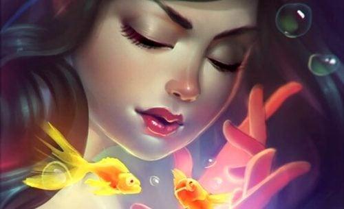 Blot for i dag, luk dine øjne og forestil dig de smukke ting som virkelighed