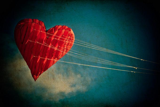 Hjerte i snor