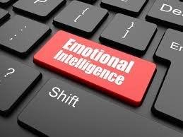 Knap med følelsesmæssig intelligens på tastatur