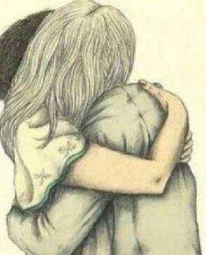 Par krammer og nyder, at de kan tolerere mangler