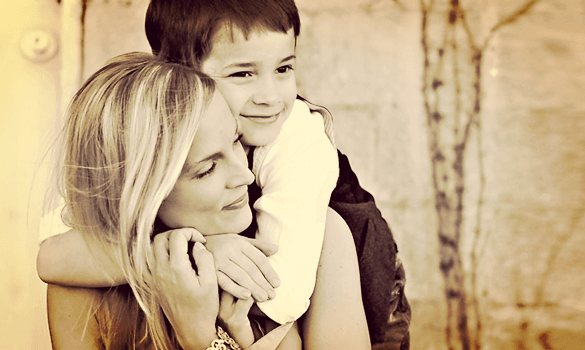 Min søn er også følsom, kærlig, omsorgsfuld...