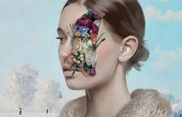 Kvinde med blomsteransigt oplever ødelagt selvkærlighed