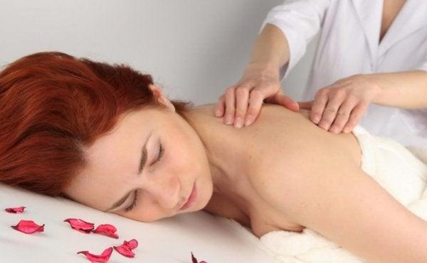 Massage fungerer som naturlige midler mod depression