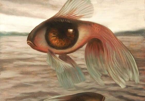 En fisk med kæmpe øje
