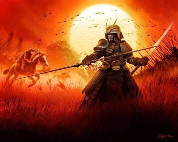 Samurai på krigsmark