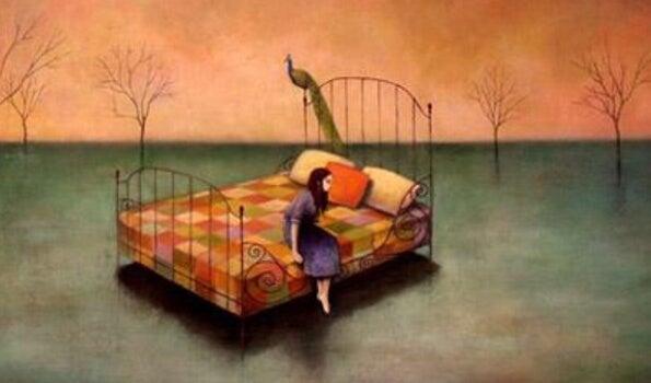 Nogle gange siger vi at vi er trætte, når vi faktisk er triste
