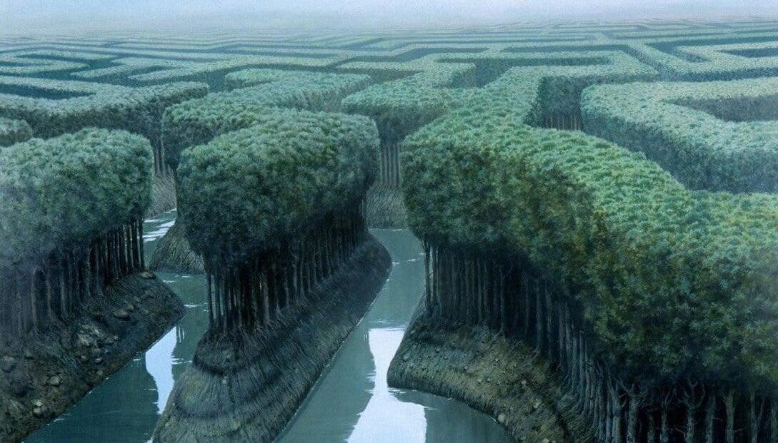 Labyrint viser behovet for problemløsning