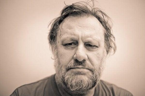 Portræt af Slavoj Žižek