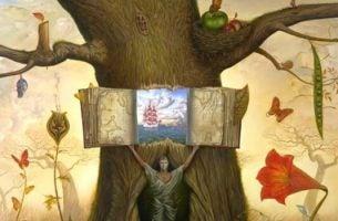 Barn åbner træ som bog om følelsesmæssig intelligens