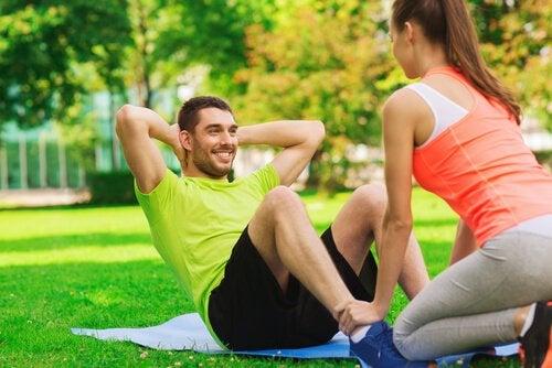 Fysisk træning kan hjælpe med at motionere din hjerne