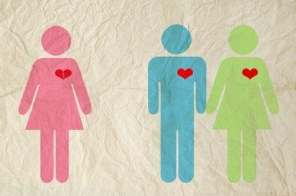 Par med tredjemand tolererer utroskab