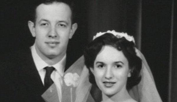John Nash med sin hustru