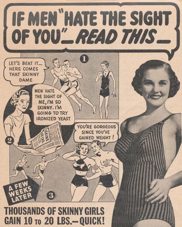 Annonce om at blive tykkere er eksempel på sexisme