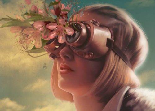Kvinde med briller til behandling af følelser