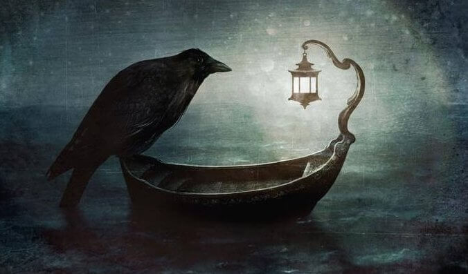 Krage på båd er døden nær