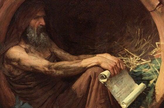 Diogenes er eksempel på kynisme