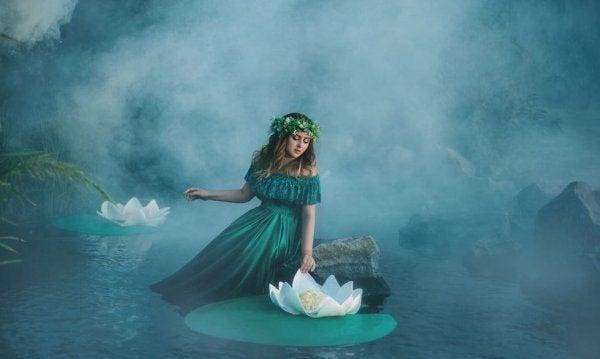 Kvinde på sø føler ensomhed