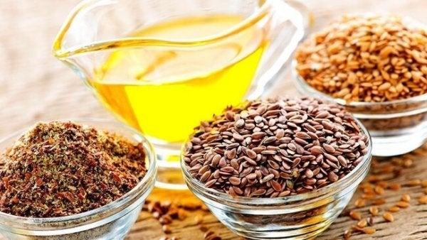 Frø med omega-3