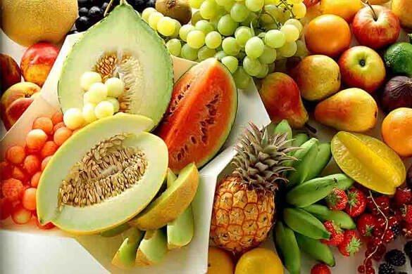 Frugt giver mange vitaminer