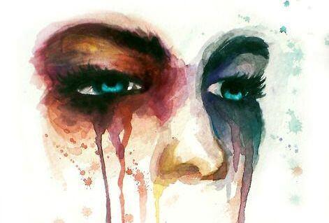 Person vælger at anerkende tristhed og græder