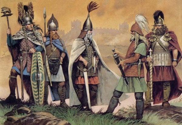 Krigere lærte os om keltiske ordsprog