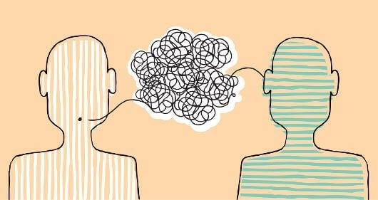To personer oplever en misforståelse