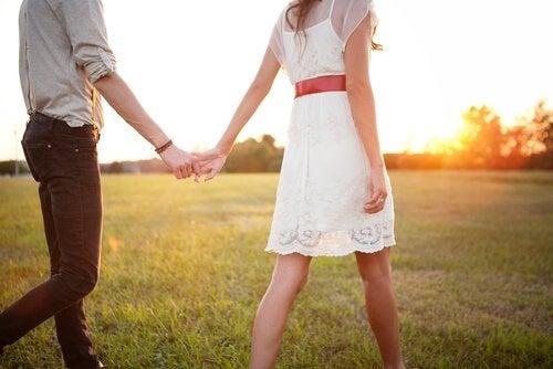Parforhold kan blive til flygtige øjeblikke, der aldrig glemmes