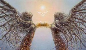 Sammenhold mellem to personer på grund af spejlneuroner og empati