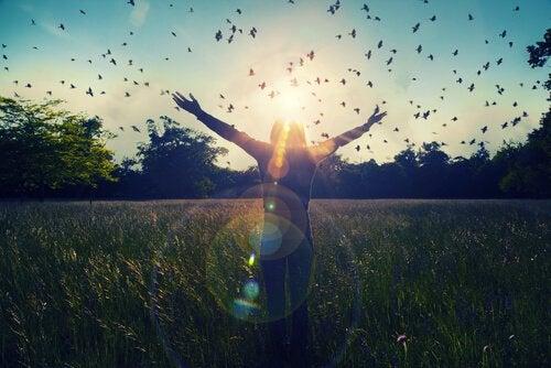 At lette overgangen fra et liv med terapi, til et liv uden.