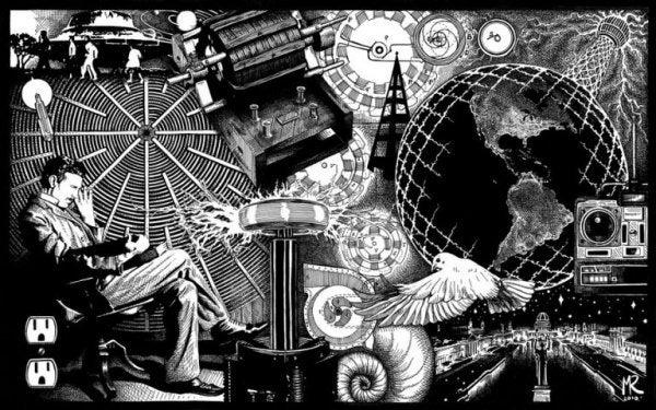 Nikola Tesla udvikler ideer