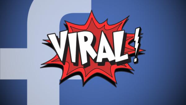 Facebook deler virale nyheder