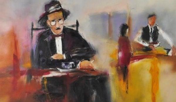 Maleri af Fernando Pessoa