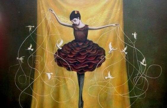 Ballerina ønsker at skabe succes
