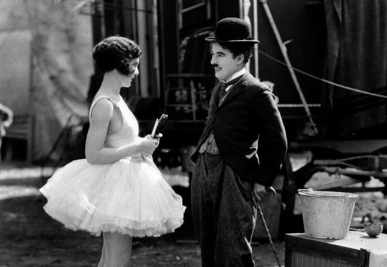 Chaplin med ballerina