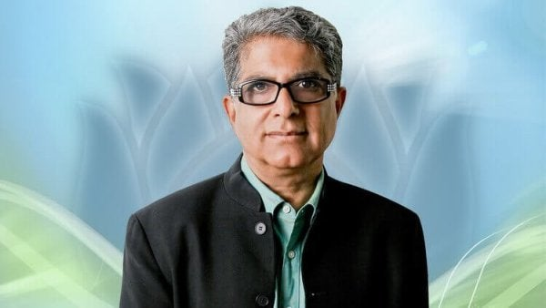 Deepak Chopra som eksempel på spirituelle ledere