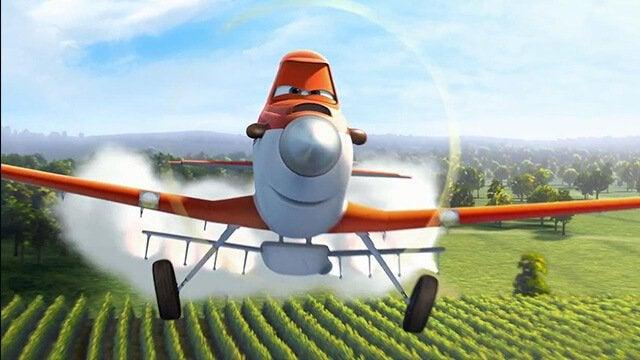 Dusty fra filmen, flyvemaskiner