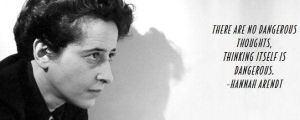 Farlige tanker som dem af Hannah Arendt