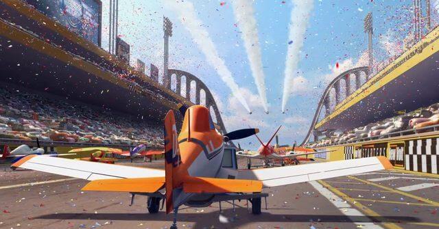 Dustry fra filmen, Flyvemaskiner