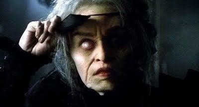 Heksen med glasøjet fra filmen, Big Fish