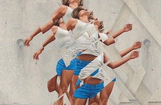 Kvinde, der hopper, tør være anderledes