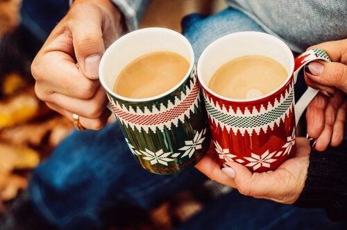Man kan skabe magiske forbindelser over en kop kaffe