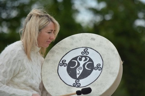 Keltisk kvinde