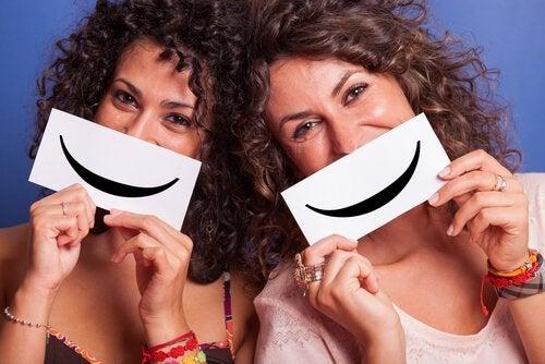 Man kan snyde hjernen ved at smile