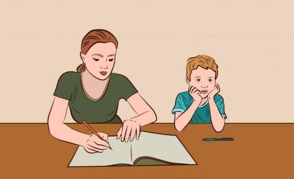 5 tips til at hjælpe med lektier ordentligt