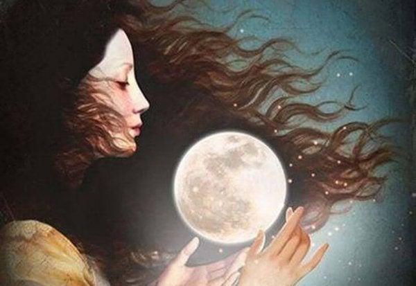 Den kvindelige cyklus følger månen