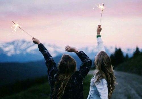 Venner med stjernekastere