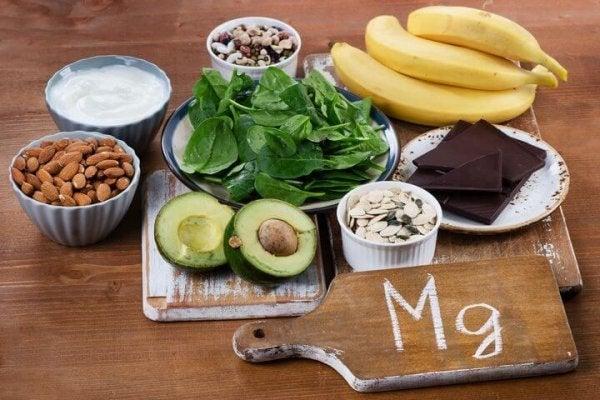 Madvarer, der indeholder magnesium